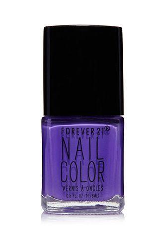 Neon Purple Nail Polish | Forever 21 - 1000131239
