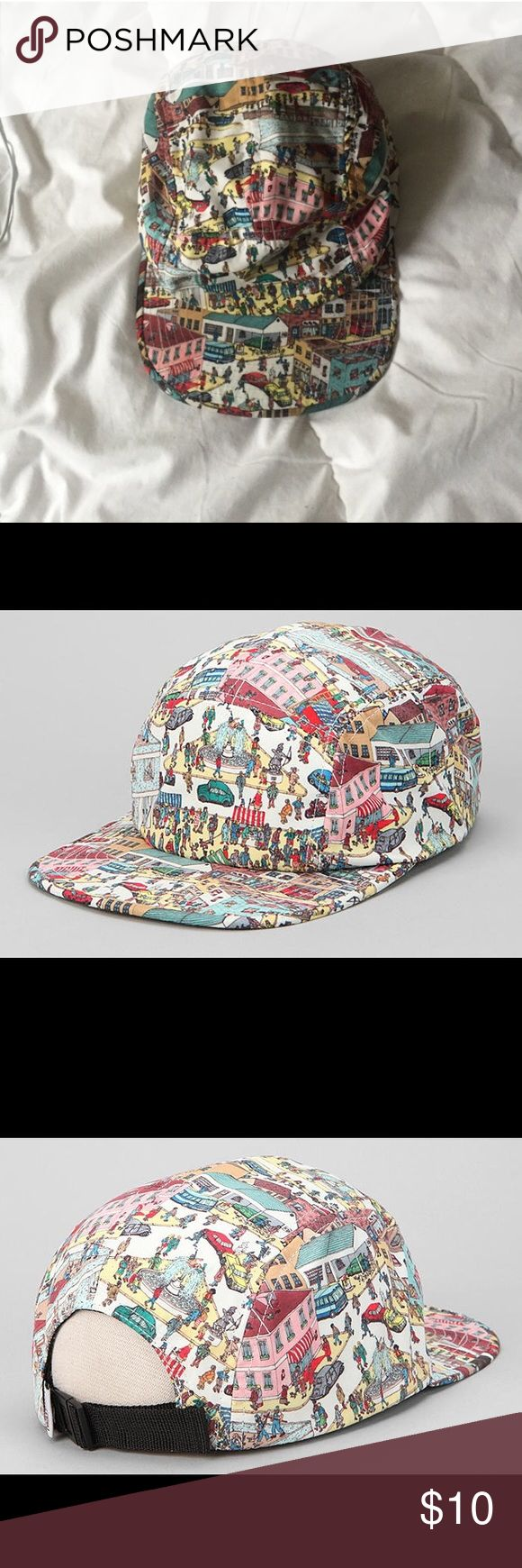 (Re-posh) Where's Waldo Hat Never worn, bought from another posher because I thought it was really cute but never found the occasion to wear it. I believe this was bought at forever 21 but I'm not positive since I didn't buy it myself. Urban Outfitters Accessories Hats