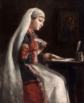 Theodore (Theodorus) Jacques Ralli-La lettre, 1887