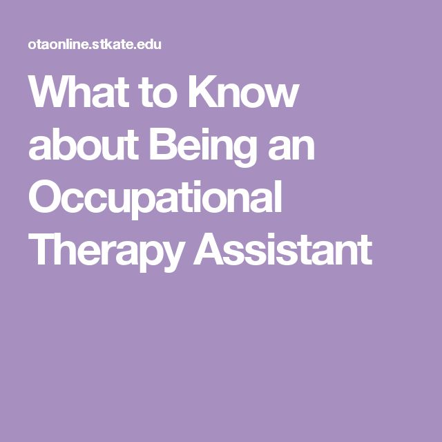 13 best OTA images on Pinterest Occupational therapy assistant - occupational therapy assistant resume