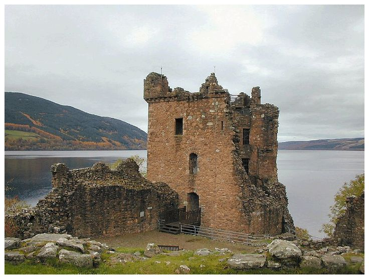 Urquhart Castle, on the banks of Loch Ness where Briana and Hamish encounter a herd of plesiosaurs in 1513 in their search for an Elixir Ingredient.