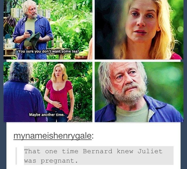 Oh my gosh Elizabeth Mitchell just confirmed that YES Juliet was in fact PREGNANT when she died. This was the seen where people were supposed to figure it out!!!!