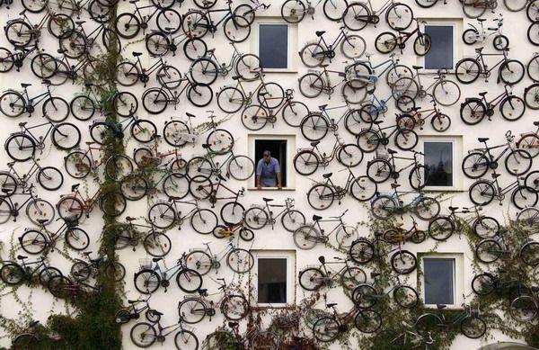 Bicycle shop in Altlandsberg, Germany