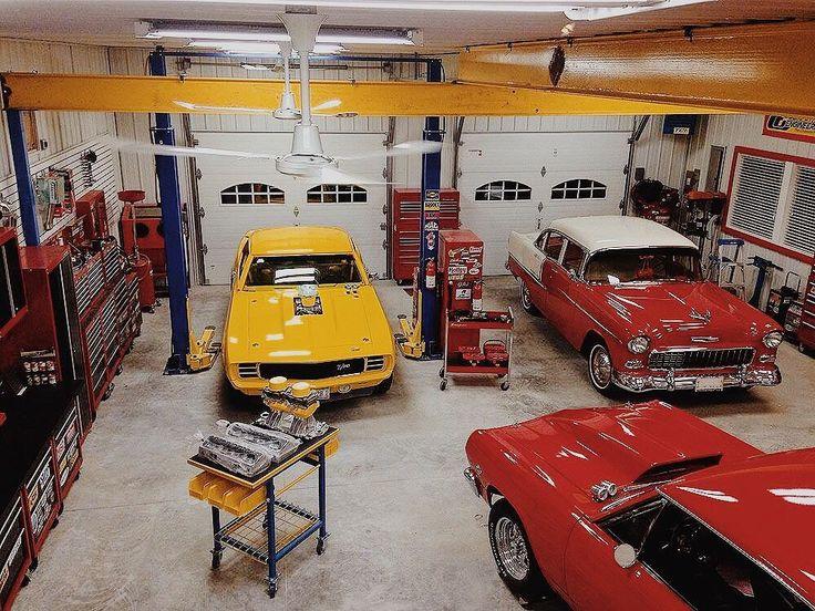 The Garage Is Clean 👌 #cars #caraficionado #carcollector