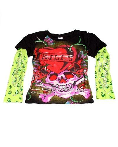 Brandfashion Online | Fashion and Accessories for Everyday - Original Ed Hardy T-Shirt (Love Kills Slowly) XLarge, $17.00 (http://www.lavendibags.com/original-ed-hardy-t-shirt-love-kills-slowly-xlarge/)