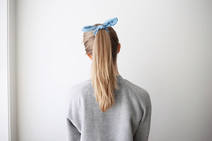 Knot scrunchies ❥