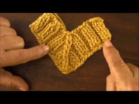 Para cuellos, ponchos y otros....muy útil!! Dos agujas: disminuciones dobles
