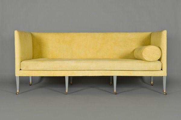 nice: Sofas Shape, Sofas Ideas, Studios Couch, Max Rollitt, Manor Houses, Rollitt Yellow, Katzsic Sofas, Yellow Katzsic, Rollitt Sofas