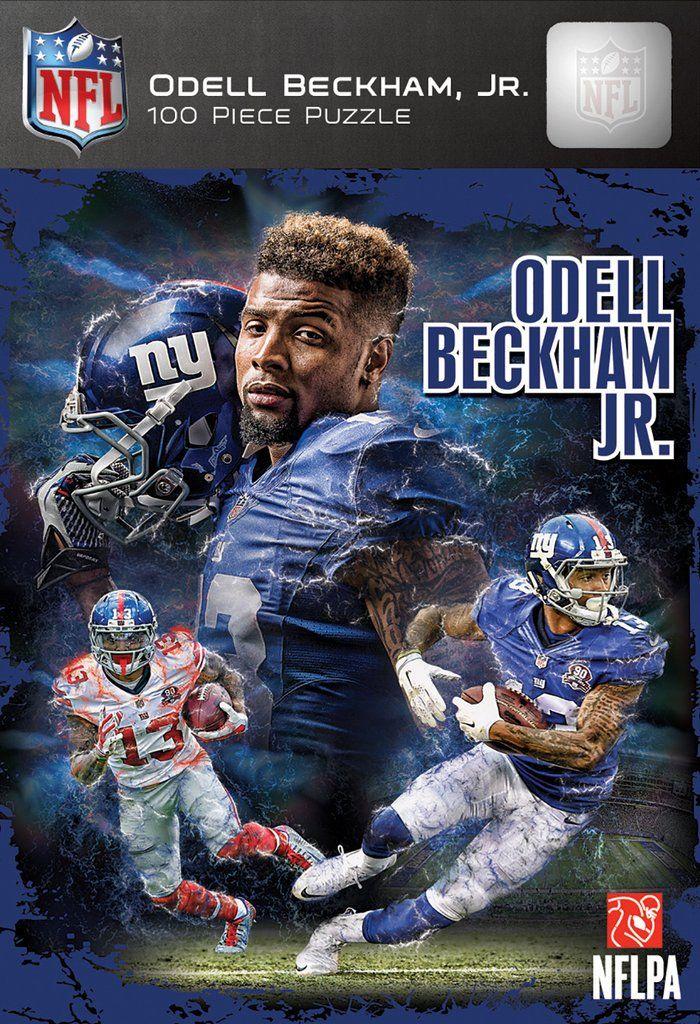 NFL New York Giants - Odell Beckham Jr. - 100 Piece Jigsaw Puzzle