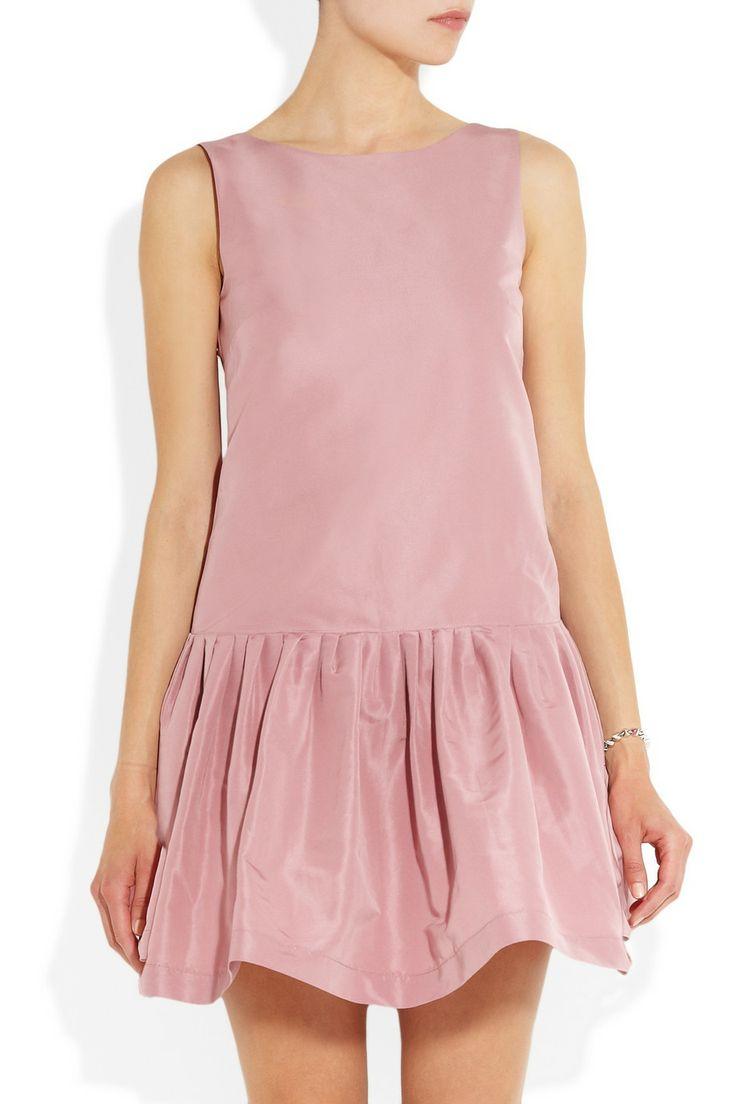 RED Valentino Flared twill dress NET-A-PORTER.COM