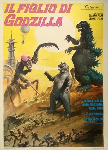 Italy poster for Son of Godzilla (1967)
