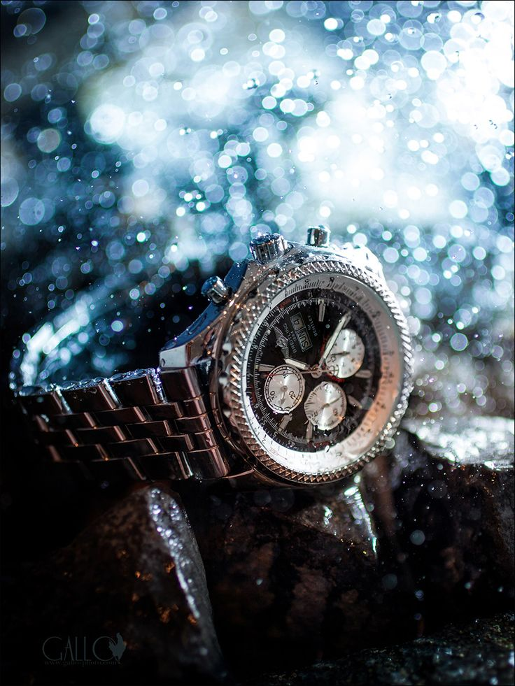 innovative product photography on a budget - Diver's Chronograph - Tangents