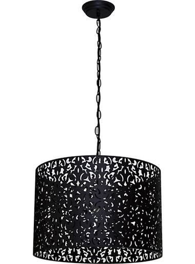 Vicky 45 Pendant - Black, Pendants, Contemporary, New Zealand's Leading Online Lighting Store