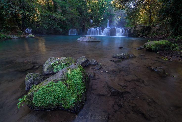 monte gelato.jpg - monte gelato's waterfalls visible on www.marcodabbruzzi.com