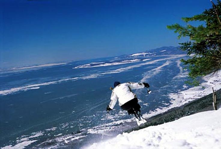Le Massif de Charlevoix #SommetsStLaurent #lemassif Ski // Ski Québec