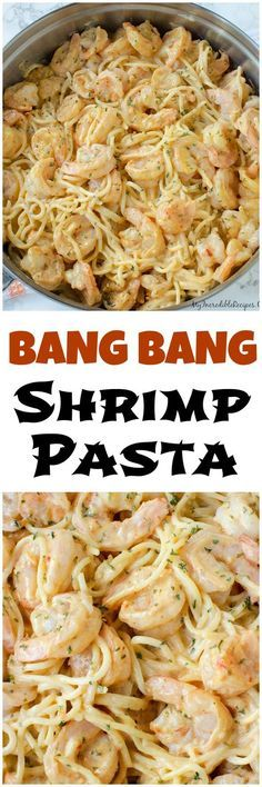 Bang Bang Shrimp Pasta!  Just switch out pasta for edamame noodles