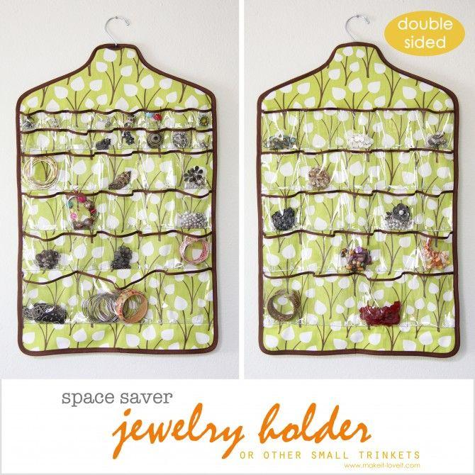 space saver jewelry holder On peut aussi y ranger les chaussettes ou les collants ou encore les barrettes et chouchous, etc...