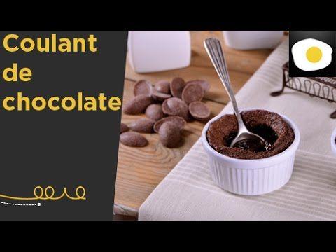 Receta de coulant de chocolate de Alma Obregón.