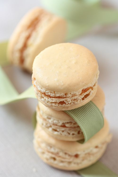Behold PUMPKIN Macarons. (Being a new-comer to the macaron world, I ...