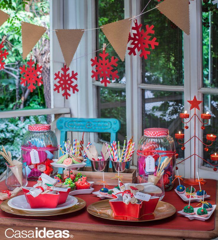 Dale sentido a tu Navidad #Decoración #Mesa #Hogar #Familia #Casaideas