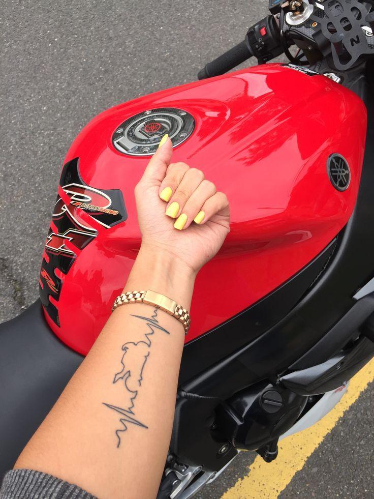 Tattoo Motorbike Yamaha R1 Biker Tattoos Motorbike Motorcycle Tattoo R1 Tattoo Yamaha