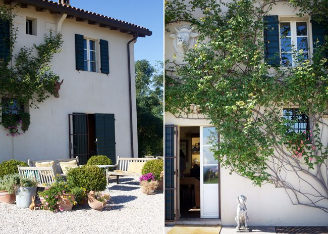 B&B entrance # country chic # farm house # B&B Cà Bianca dell'Abbadessa Bologna - ITALY #