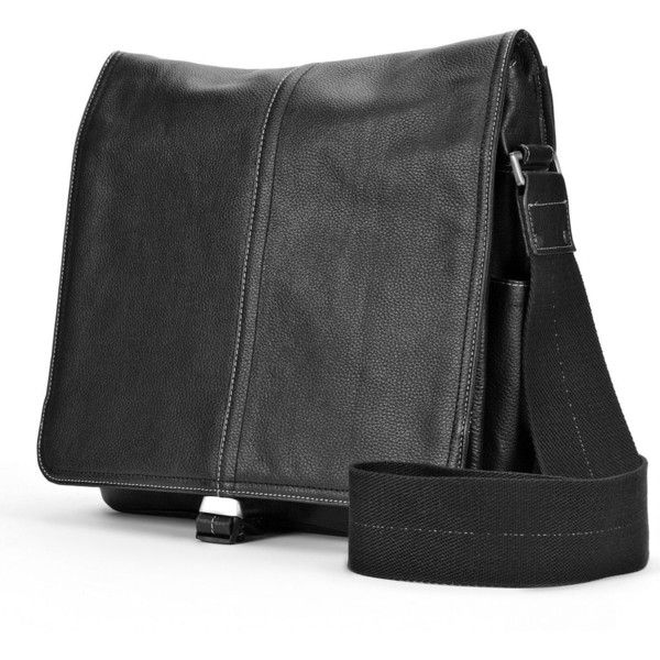 AmeriLeather Teddy Leather Messenger Bag, Black ($185) ❤ liked on Polyvore featuring bags, messenger bags, black, leather bags, pocket bag, leather zipper bag, messenger bag and amerileather