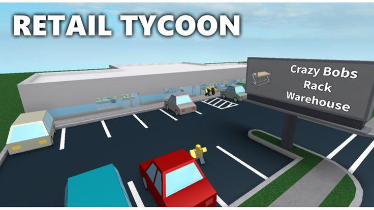 """Check out Retail Tycoon. It's one of the millions of unique, user-generated 3D experiences created on Roblox. In Retail Tycoon, you take control of a small building and set out to create a massive retail store. Attract customers with pretty signs and separate them from their money with your own well-designed store layout.   Remaking this based off Dued1s """"Your Store Tycoon"""" (which was awesome, but broken by roblox updates).   Interested in future games by my friends and I? Join the ..."""