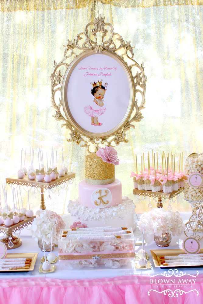 Elegant Princess Baby Shower Party Ideas