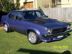 Holden Torana in Royal Plum