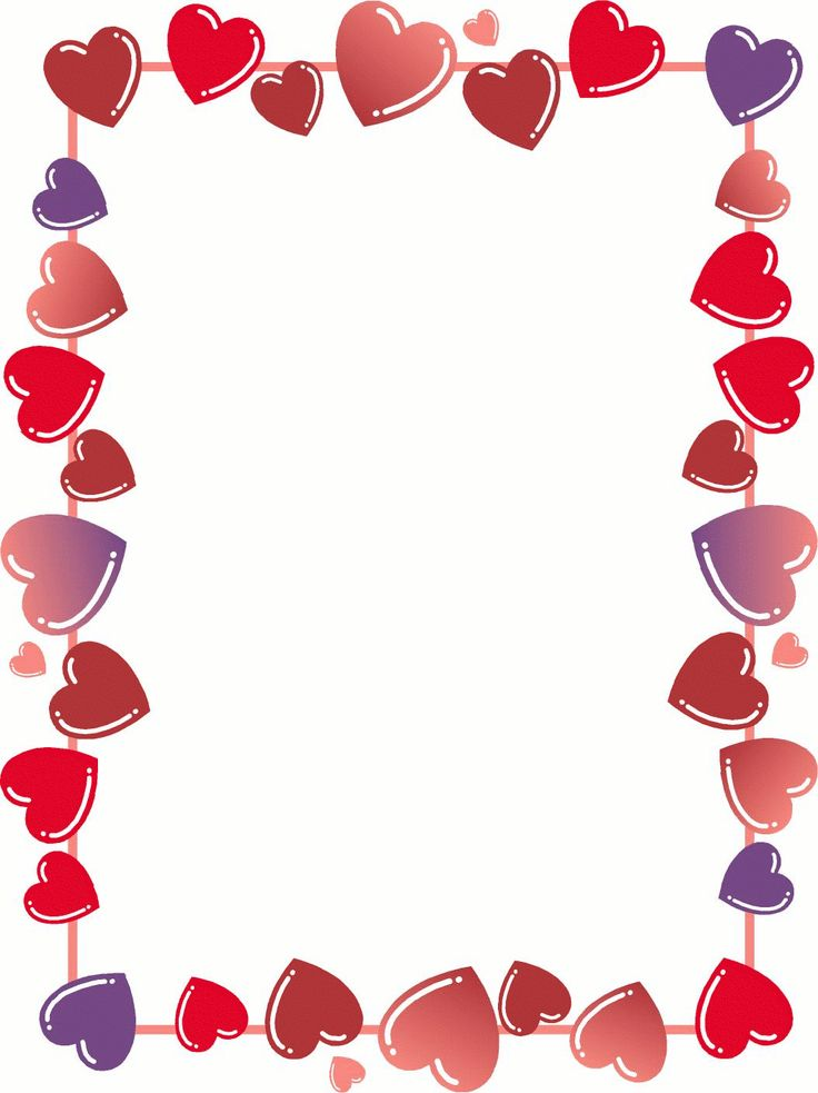 Free Printable Love Heart Template. Hearts Frame Valentines Day Name Tags Free Printable Valentines Day