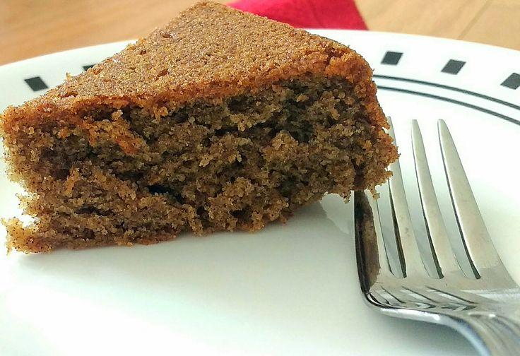 Eggless Whole wheat Ragi Chocolate cake