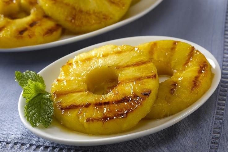 Piña a la parrilla. Busca las recetas más deliciosas y fáciles de preparar: http://www.superpola.com/#/receta/pina-a-la-parrilla