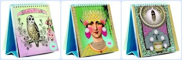 Papaya Art Desk Calendars @allespapier @hippeshops