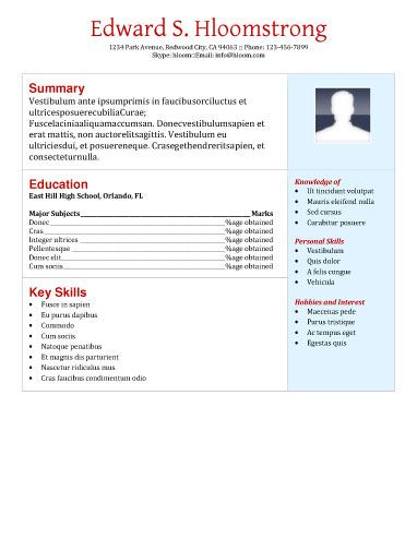 7 best resume images on pinterest free resume cv template and