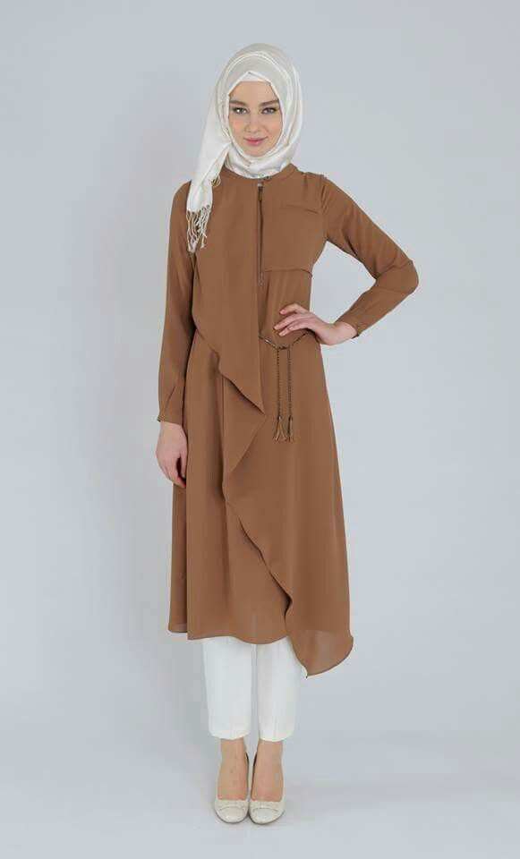 Brown tunic.. so calm