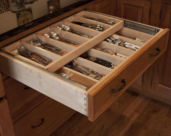 Traditional Kitchen Kitchen Drawer Organizers Design, Pictures, Remodel, Decor and Ideas - page 6