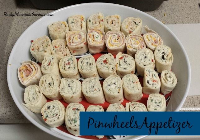 Pinwheels - Great appetizer! http://www.rockymountainsavings.com/ #recipes