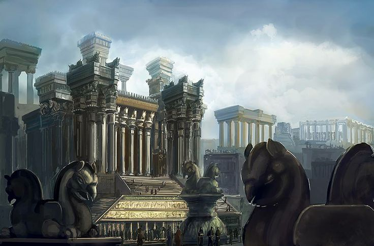 Sketch from Persepolis Palace | My country Iran ...