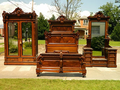 Very pretty antique bedroom furniture - 96 Best Antique Bedroom Furniture Images On Pinterest Home
