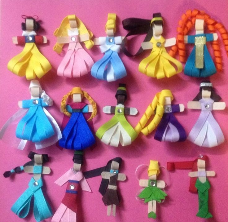 Princess Inspired Ribbon Sculpture Hair Clip *You Choose ONE*