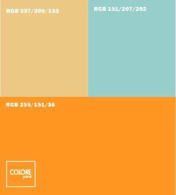 abbinamento arancione