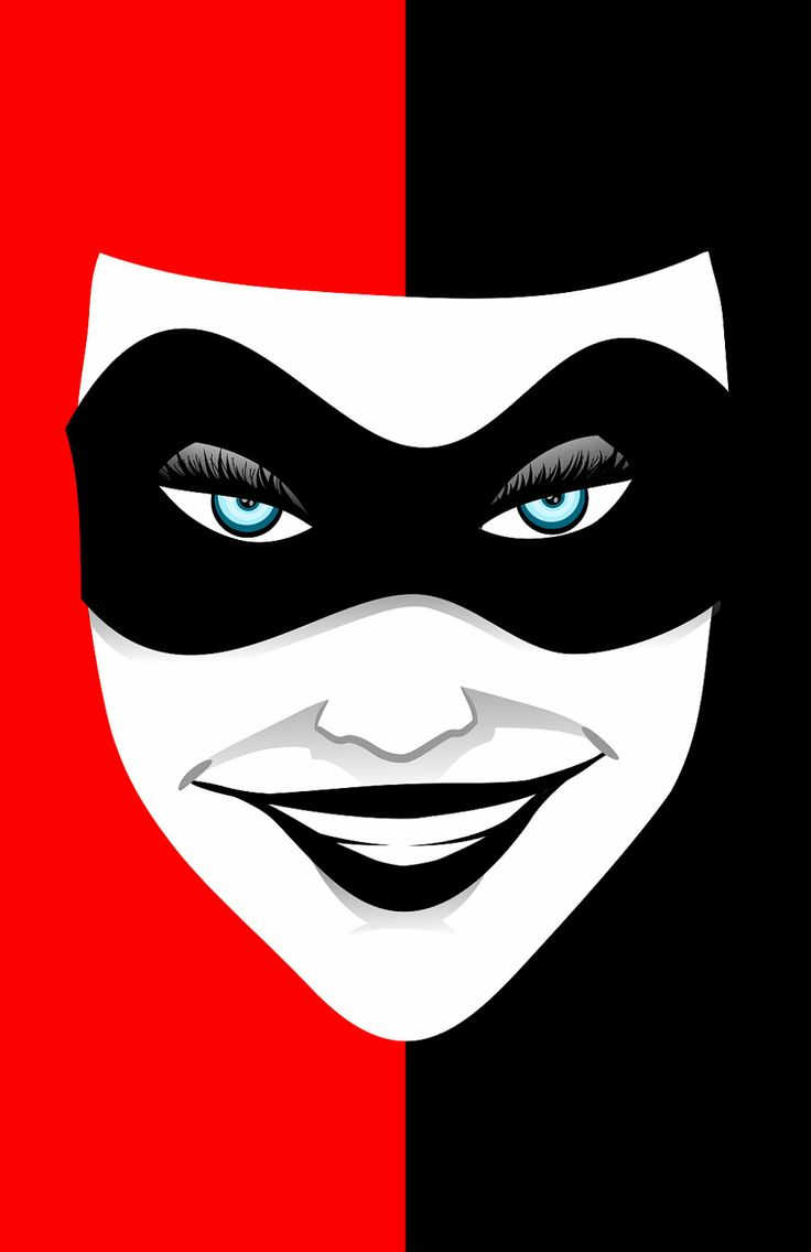 Red and Black   Harley Quinn Print. 17 Best images about Alan bedroom on Pinterest   Red bedrooms  Diy