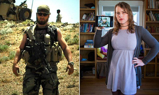 """#DailyMailUK ..... """"Alana McLaughlin, 32, was a U.S. Special Forces shooter in Afghanistan.. She joined the army hoping to die in a 'passive suicide' mission.. Finally had full gender re-assignment surgery in 2012.""""....  http://www.dailymail.co.uk/femail/article-3702952/I-fought-shot-grew-beard-didn-t-change-thing-Ex-Special-Forces-soldier-wanted-die-combat-finally-learns-love-body-woman.html#ixzz4FByVbq5T"""