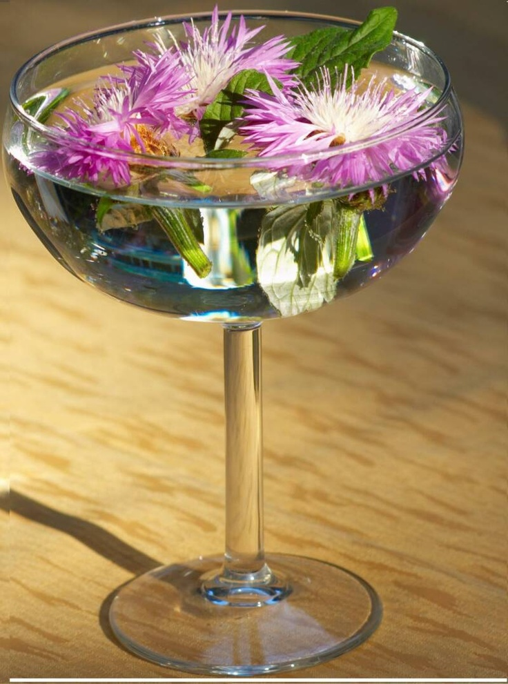 Best wine glass centerpieces images on pinterest