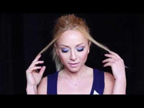 Ανοιξιάτικο μακιγιάζ με eyeliner /spring make up look with eyeliner - YouTube