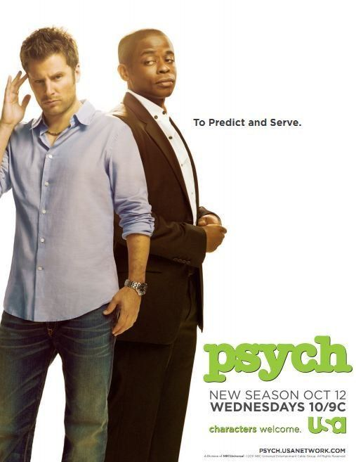 Psych. The best.