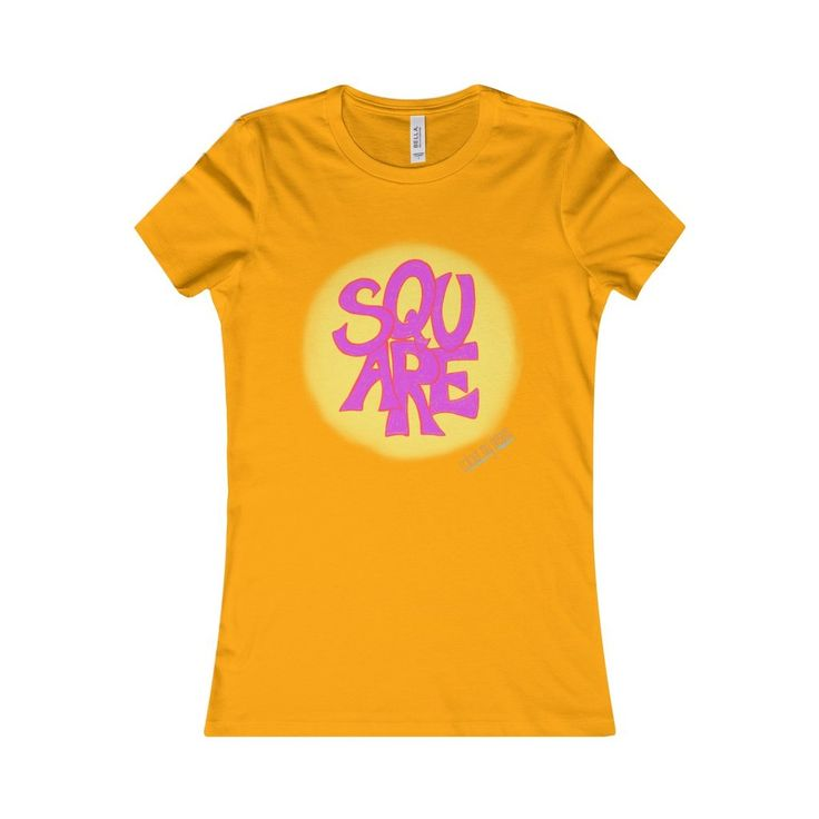 A little play on words - Square Circle t-shirt - sometimes we try to be  clever and quirky, not sure if it works, but we like this one.