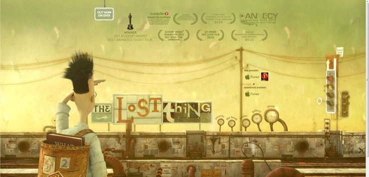 The Lost Thing (official film web site) - http://www.thelostthing.com | Designer: Unknown