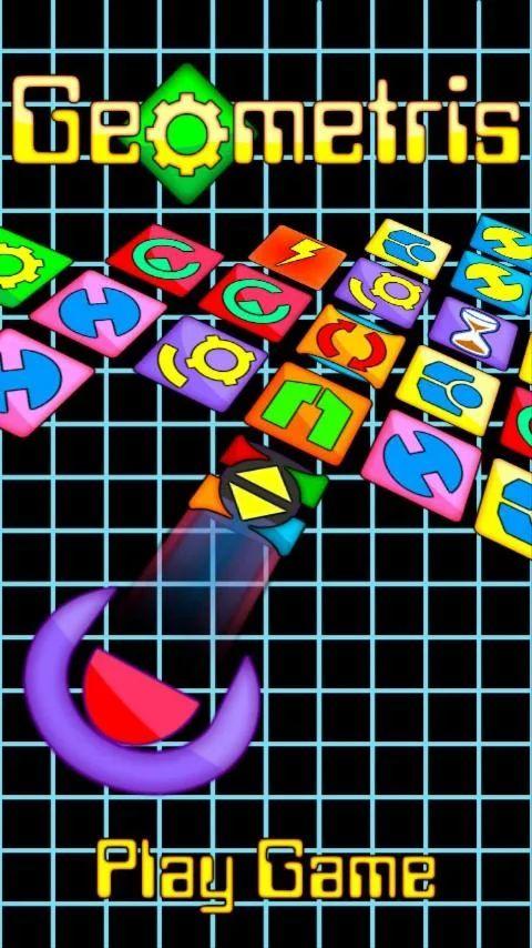 Bienvenido a #Geometris. Un #juegoparaandroid gratis que te hará vibrar. Maneja tu nave para ir terminando con los geometrinos de cada nivel. Haz combos de fichas cuando hagas líneas seguidas y multiplica tu puntuación por dos, por tres, y así sucesivamente. Por su aspecto retro y su trepidante musica y ritmo no podrás dejar de jugar https://play.google.com/store/apps/details?id=com.grupoalamar.geometris&hl=es